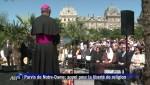 paris,notre dame de paris,aide à l'église en détresse,liberté religieuse,religion et espace urbain,afp,vidéo