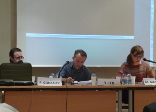 Philippe Gonzalez, Yannick Fer, Maïté Maskens